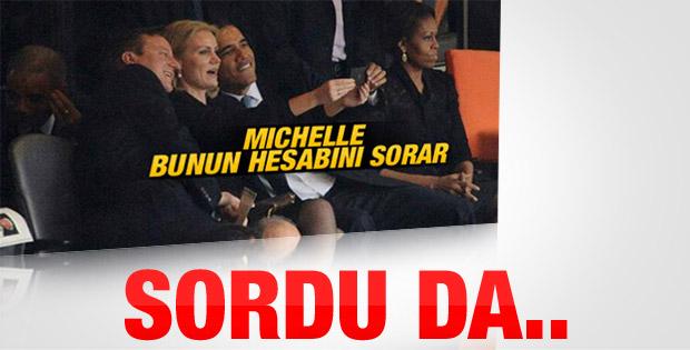 Michelle Obama o samimiyetin hesabını sordu