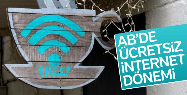 Avrupa Birliği'nde ücretsiz internet dönemi