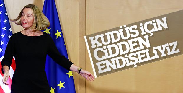 Avrupa Birliği'nden Kudüs çıkışı