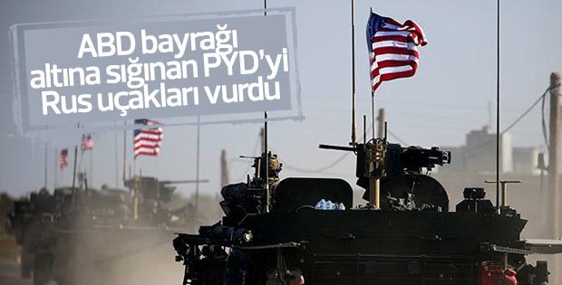 ABD: Rusya Suriye'de PYD güçlerini vurdu