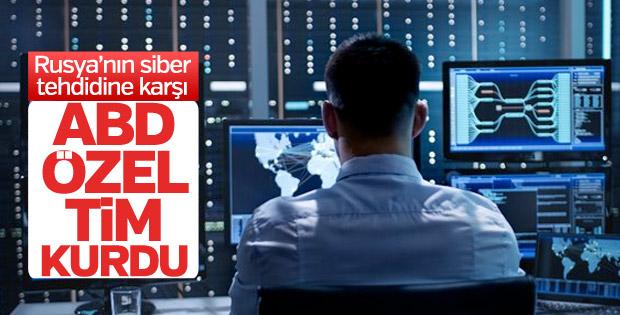 ABD'den Rusya'ya karşı siber güvenlik timi