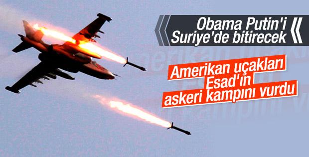 ABD uçakları Suriye ordusunu vurdu