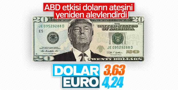 Dolar ve euro yükseldi