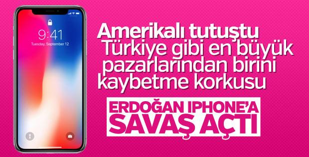 Başkan Erdoğan'ın iPhone boykot çağrısı ses getirdi