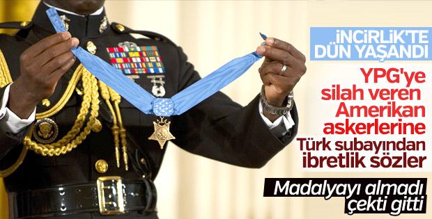 Türk subayından ABD'li komutana ibretlik madalya cevabı