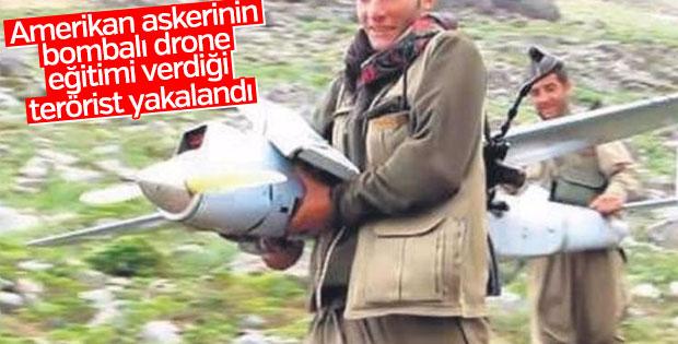 Drone eğitimi alan terörist yakalandı
