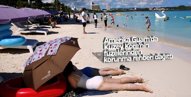 ABD adası Guam'da nükleer saldırı broşürü dağıtıldı