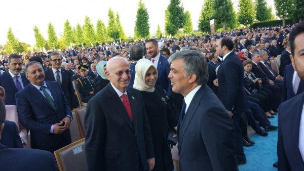 Abdullah Gül Beştepe'de
