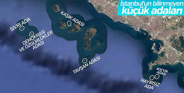 İstanbul'un bilinmeyen adaları