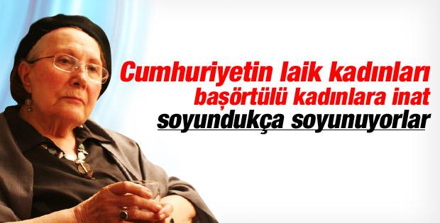 Adalet Ağaoğlu: Atatürk yaşasıydı Diyanet'i kapatırdı