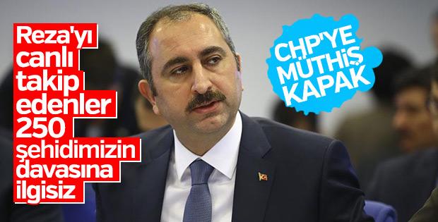 Adalet Bakanı Gül'den CHP'li vekillere ayar