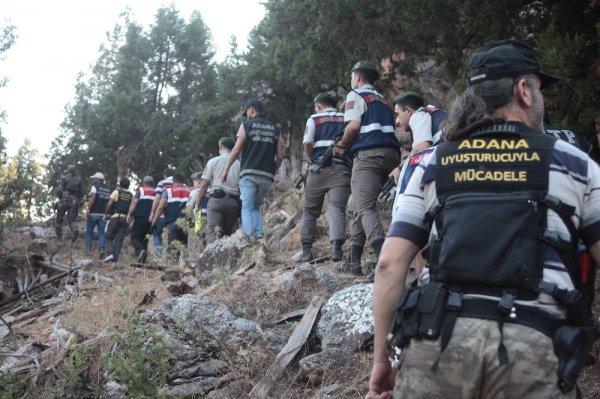 Adana'da uyuşturucu operasyonlarının bilançosu
