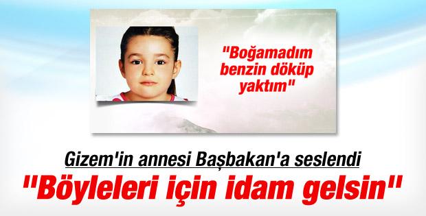 Adana'da öldürülen minik Gizem'in annesi konuştu