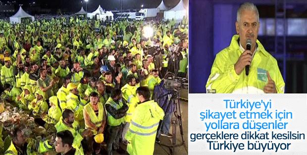 Başbakan Yıldırım: İstanbul havacılıkta dünyanın merkezi oluyor