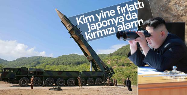 Kuzey Kore füze fırlattı