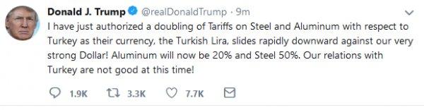 Trump'ın sözlerine Türk kullanıcılarından cevap