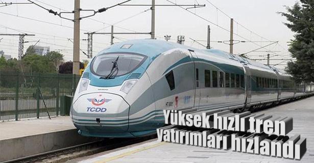 Yüksek Hızlı Tren yatırımları arttı