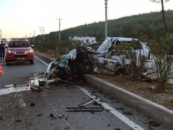 Bodrum'da 2 kişinin öldüğü kazada çakmak detayı