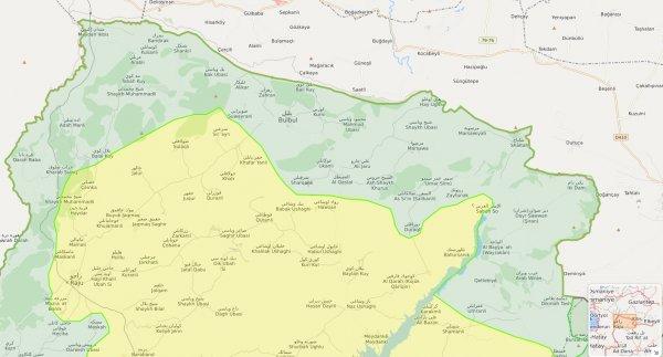 Afrin'de 5 köy daha YPG'den temizlendi