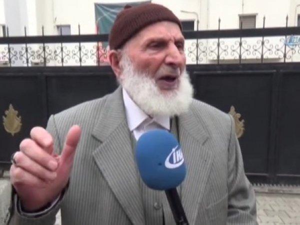 87 yaşındaki Ahmet Dede Afrin'e gitmek istiyor