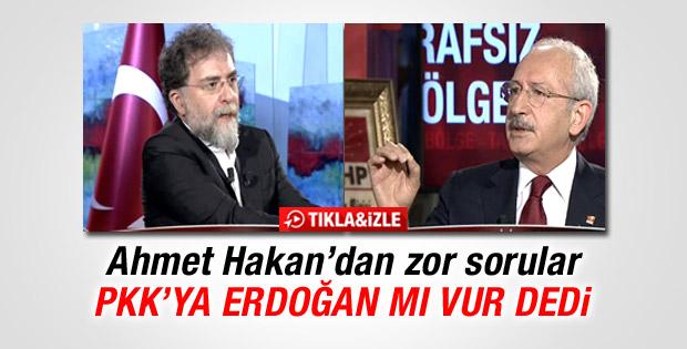 Ahmet Hakan'dan Kılıçdaroğlu'na zor sorular İZLE