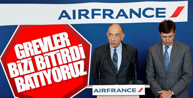 Air France batıyor