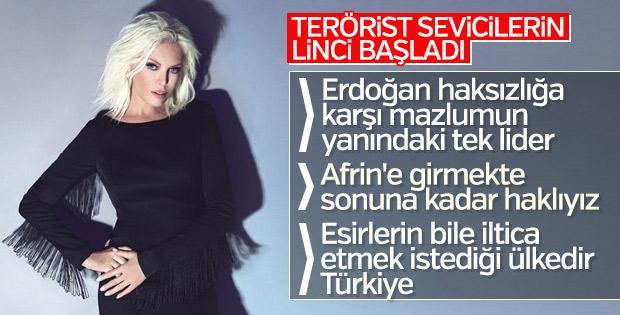 Ajda Pekkan: Erdoğan her zaman mazlumun yanında