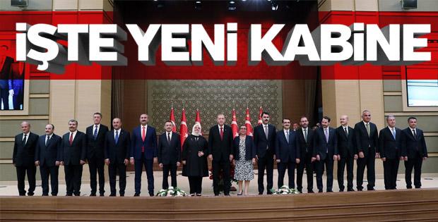 Yeni Kabine'de Kim Kimdir? İşte Yeni Sistemin İlk Kabinesi! (09-07-2018)