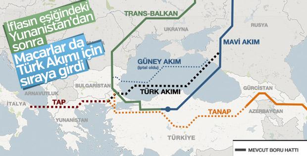 Macarların gözü Türk Akımı projesinde