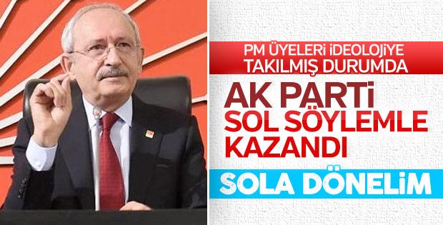 CHP'lilere göre AK Parti sol söylemle kazandı