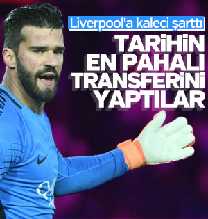 Alisson Becker Liverpool'da