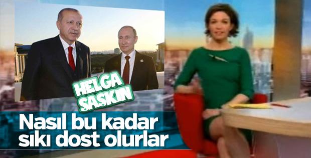 Erdoğan-Putin dostluğu Almanya'nın gündeminde