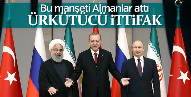 Ankara'daki Suriye Zirvesi Alman basınında