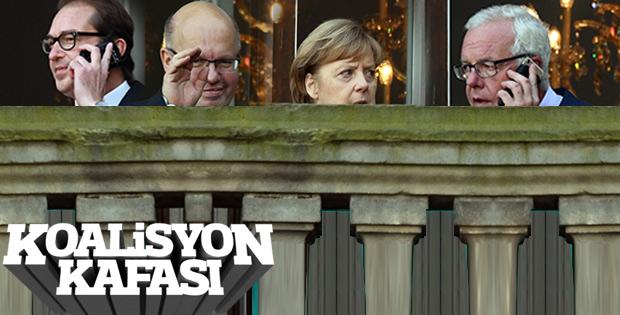 Almanya'da koalisyon görüşmeleri başladı