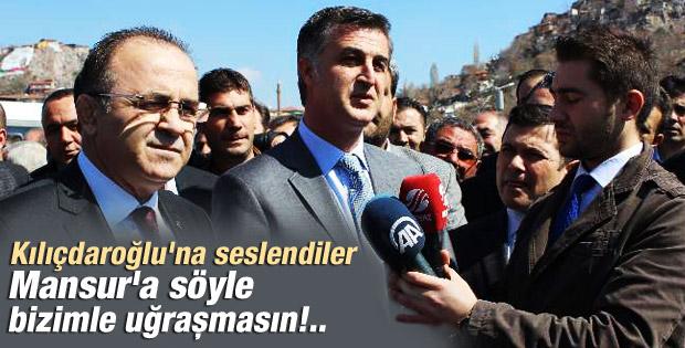 Ankara'da Mansur Yavaş protesto edildi