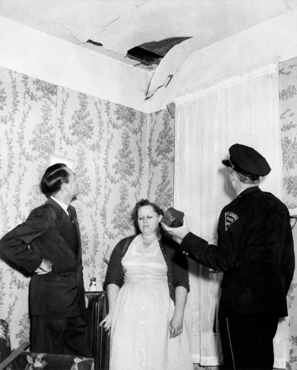 Gök taşına çarpan kadın: Ann Hodges