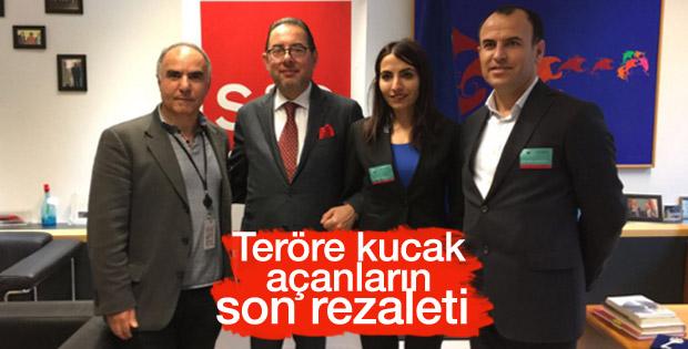 Firari HDP'liler Avrupa Parlamentosu'nda