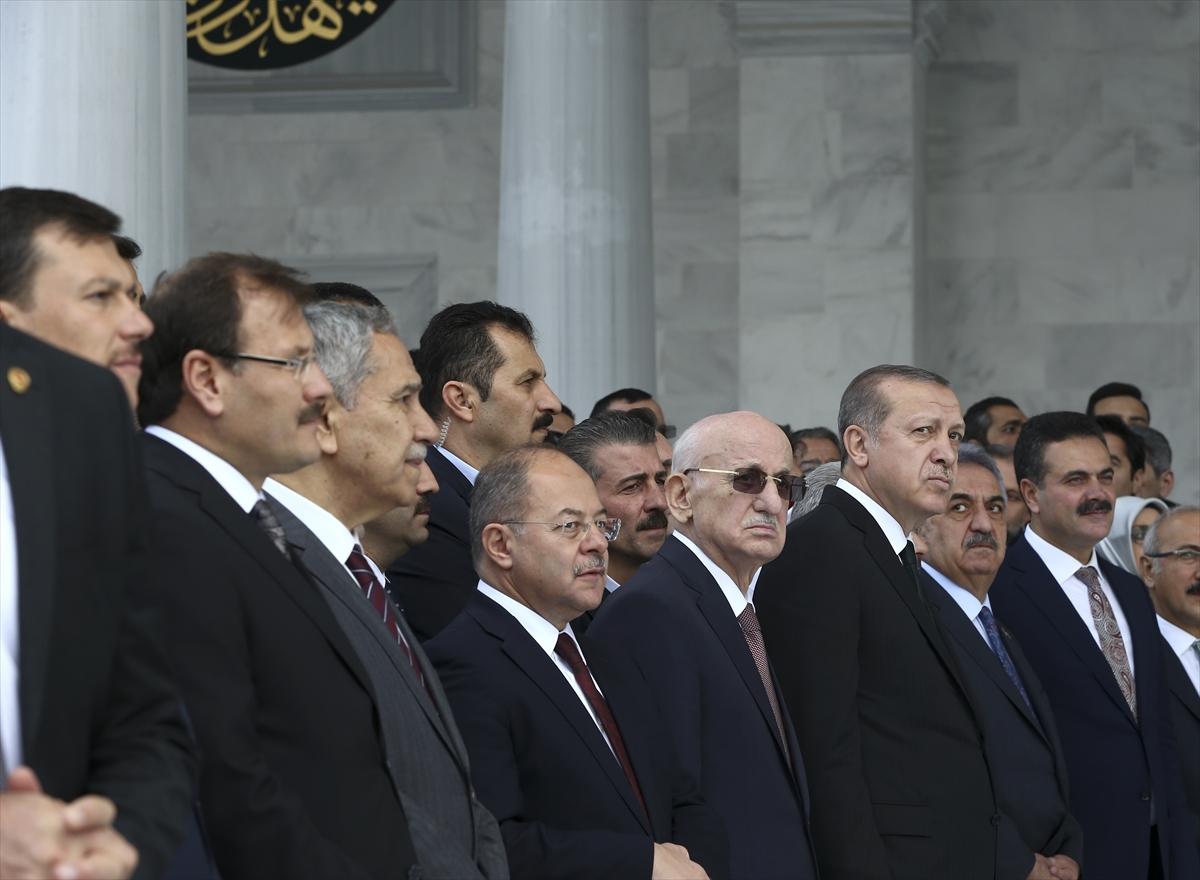 Cumhurbaşkanı Erdoğan ile Bülent Arınç aynı karede