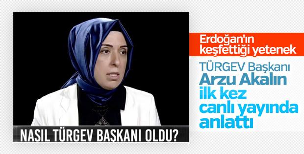 Arzu Akalın TÜRGEV Başkanı olma sürecini anlattı
