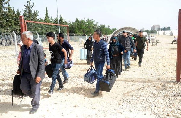 Suriyeliler Türk devletine minnettar
