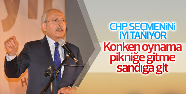 Kemal Kılıçdaroğlu: Herkes sandığa gitsin