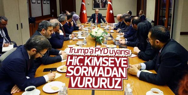 Cumhurbaşkanı Erdoğan, Trump ile görüşmesini anlattı