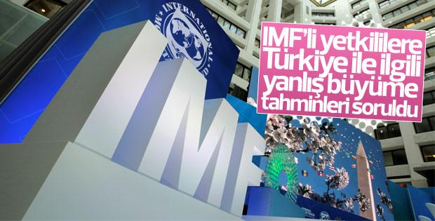 IMF: Beklenmedik olaylar oldu