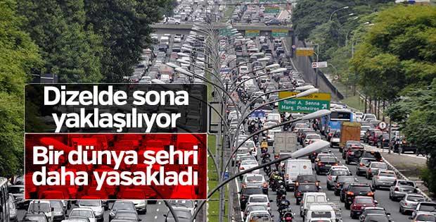 Belediye Başkanı Facebook'tan duyurdu: Dizel araç yasak