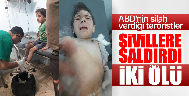 PKK, Azez ve Mare'de sivilleri vurdu