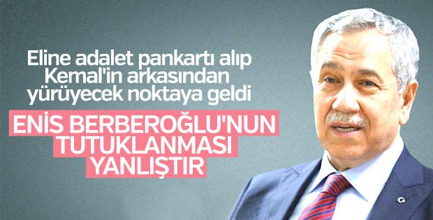 Bülent Arınç'tan Berberoğlu açıklaması