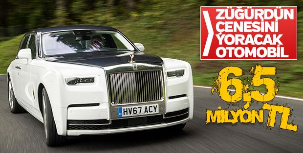 6,5 milyon liralık Rolls-Royce Türkiye'de 'yok' satacak