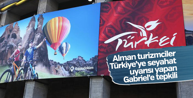 Alman turizmcilerden Gabriel'e Türkiye eleştirisi