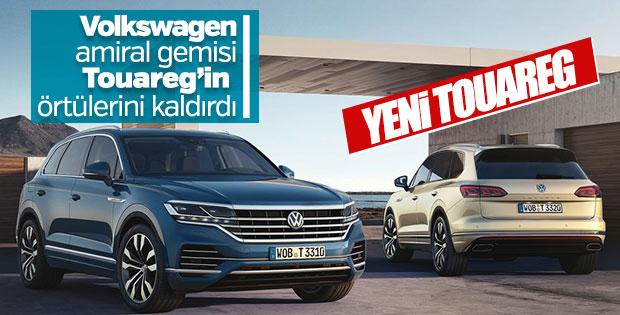 Yeni Volkswagen Touareg'in tüm detayları belli oldu
