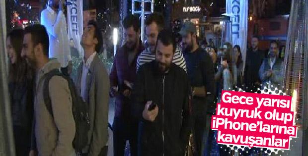 İPhone 8 İstanbul'da satışa çıktı